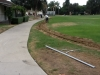 Solana Beach La Colonia Park Walkway Lighting and Perimeter Outlets Before