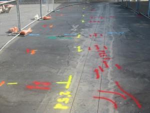 utility marking